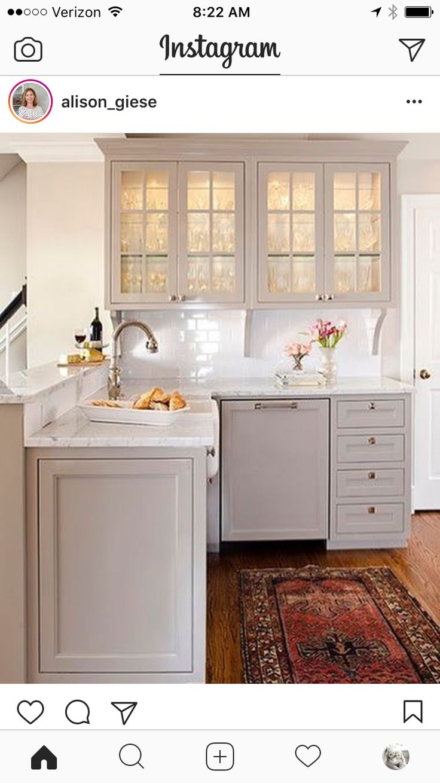 Soft gray kitchen Terracotta Design Build