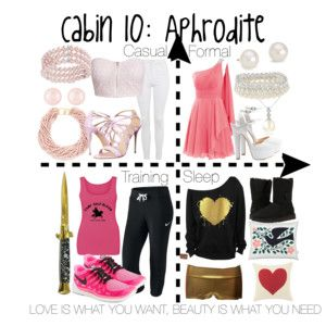 Cabin 10: Aphrodite AAAAGGGHHH THE PINK!!! IT BURNS!!! BURNS!!!