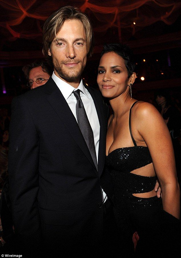 'Model' behavior: Berry dated model Gabriel Aubry for five years. The two share a 7-year-old daughter Nahla. Berry and Aubry became involved in a highly publicized custody battle