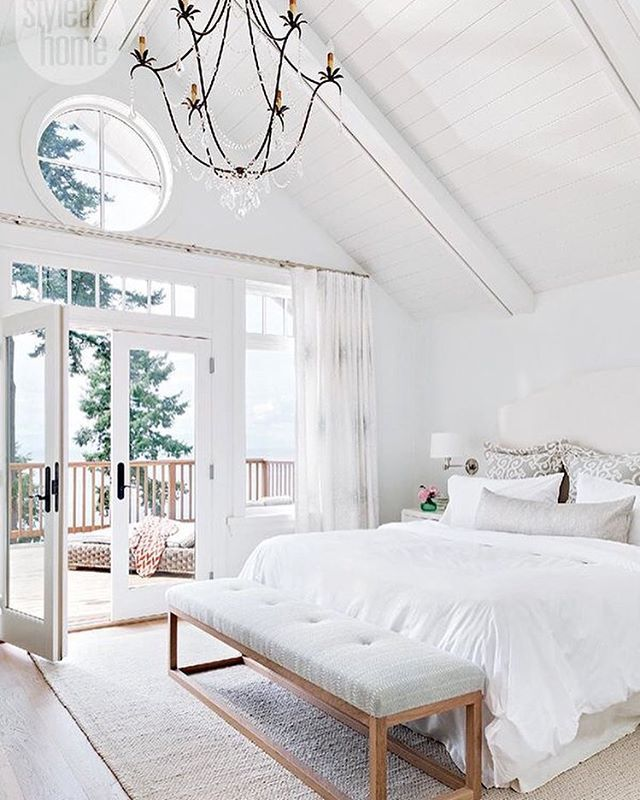 WEBSTA @ beckiowens - Soft   muted spaces or colorful   vibrant?  A constant battle in my head!  What's your pick? Also this weeks favorites on Beckiowens.com.  Image via @styleathome