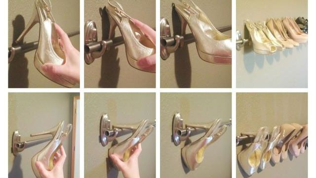 15 Brilliant Things You Can Do with Command Hooks Use command hook(s) to make a shoe rack