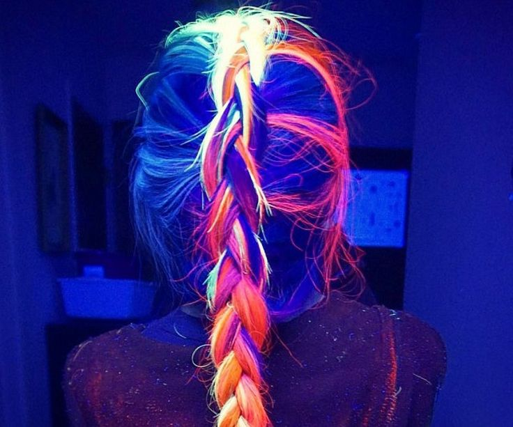 Glow In The Dark Hair Dye – Novelty Gift Ideas