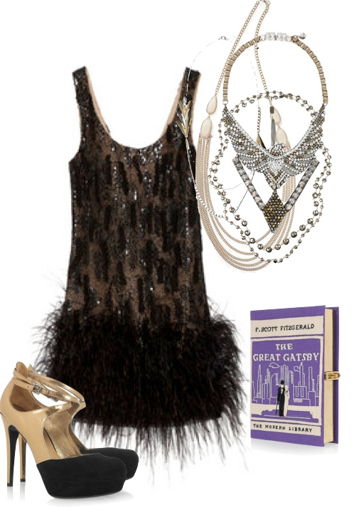 The Great Gatsby Women's Cocktail Attire