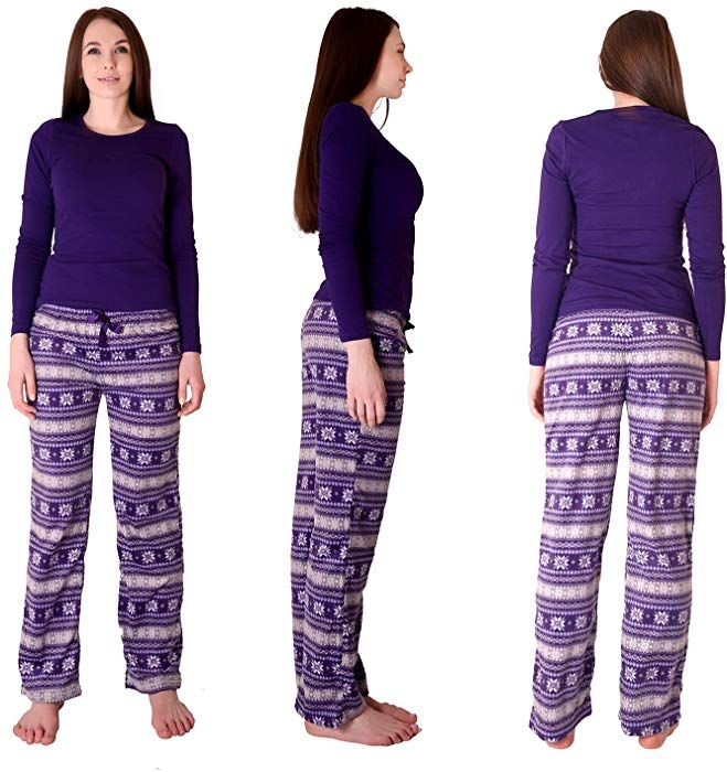 Fair Isle 2-Piece Ladies Lounge set