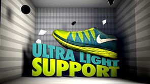 Ultra Light Support - Nike Flyknit Projection Mapping by Found.