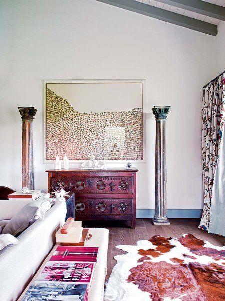 Una Casa Con Glamour Anglosaj N Pieles En Decoraci N