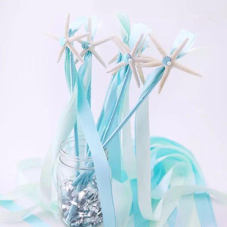 Borlas Fita Naturl Casamento de praia Estrela Do Mar Decoração Do Partido Decoração Do Partido Do Tema Do Oceano Fluxo Confetti Fita Varinhas Varinhas De Fadas em Evento & Party de Home & Garden no AliExpress.com | Alibaba Group