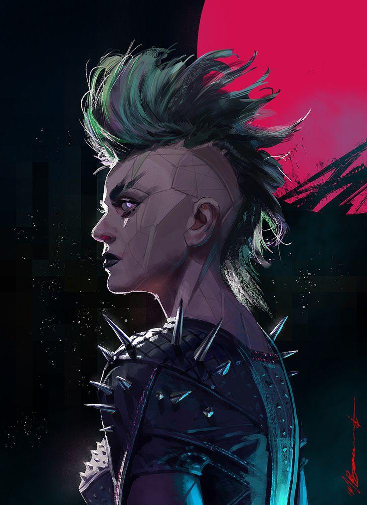 """""""Bionic Punk"""", Michael Broussard on ArtStation at https://www.artstation.com/artwork/1LeBK"""