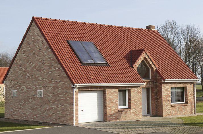 Extérieur de la maison témoin Maisons d'en France de Vermelles