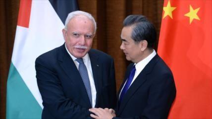 China hará 'todo' para ayudar a establecer un Estado palestino