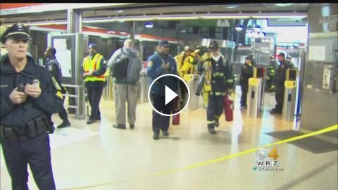Passengers Break Windows As Smoke Fills Back Bay Station: Several people were injured after a train overheated in Boston. WBZ-TV's Julie…