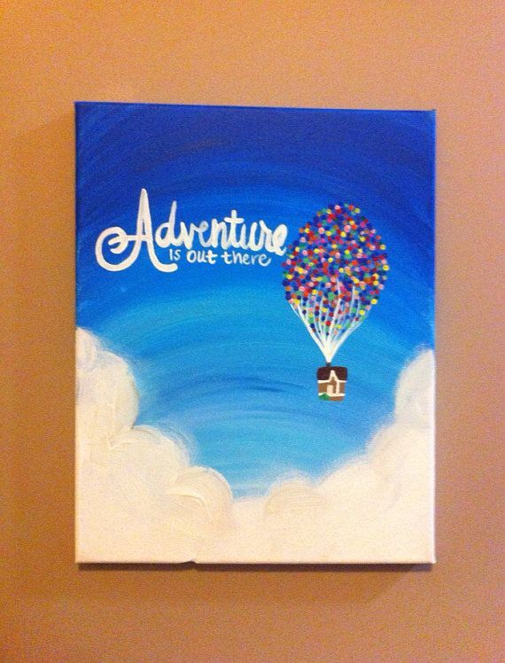 Up Painting on Etsy, $20.00