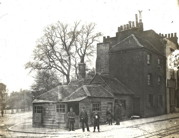 Highgate Forge, Highgate High St, 1900. Nothing quite evokes a memory of the past quite like an old forge. Gone are the horses of yesterday.