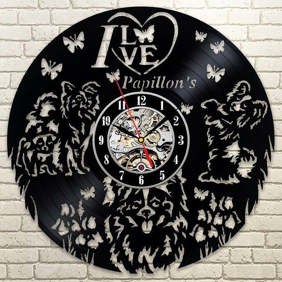Your Time Is The Greatest Gift Thank You For Sharing Best Original Wall Clock Made Of Vinyl Record W Record Clock Vinyl Record Clock How To Make Wall Clock