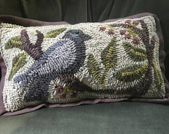Image result for hooked bird pillow