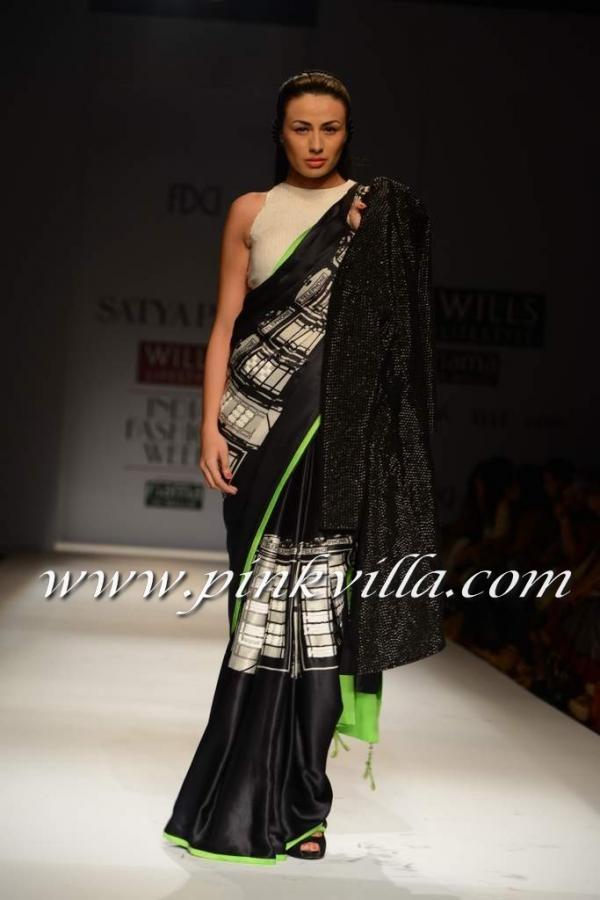 Wills India Fashion Week 2013: Masaba Guptas collection for Satya Paul   PINKVILLA