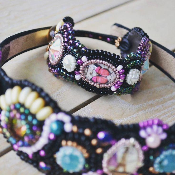 #handmade #beadwork #jewelry #bracelet