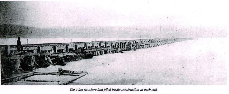 The Rice Lake bridge, built in 1854.