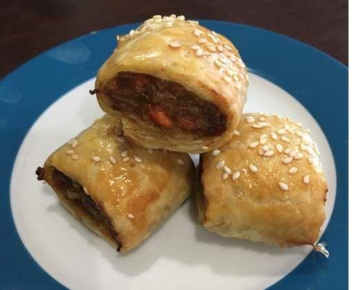 Recipe Mums Sausage Rolls by NickyB Mixalot - Recipe of category Baking - savoury