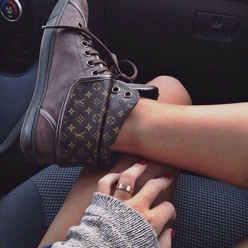 Luis Vuitton boots