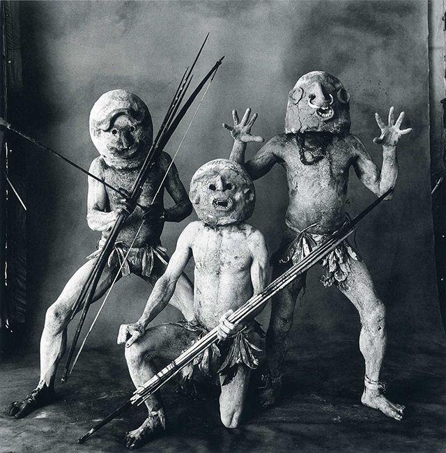 アーヴィング・ペン(Irving Penn) > ニューギニアの部族