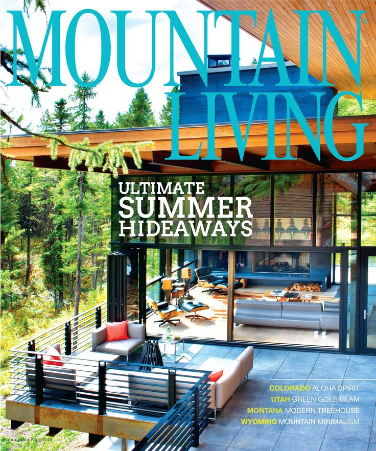 Mountain Living July 2015 Magazine Cover