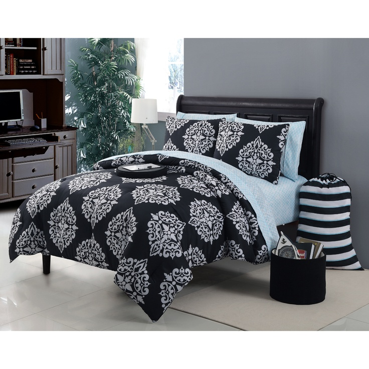 Daria 11-piece Bed in a Bag with Sheet Set | Overstock.com
