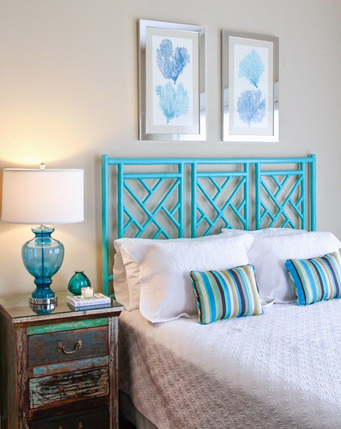 House Of Turquoise Wendy Patrick Designs Coastal BedroomsBeach BedroomsWhite