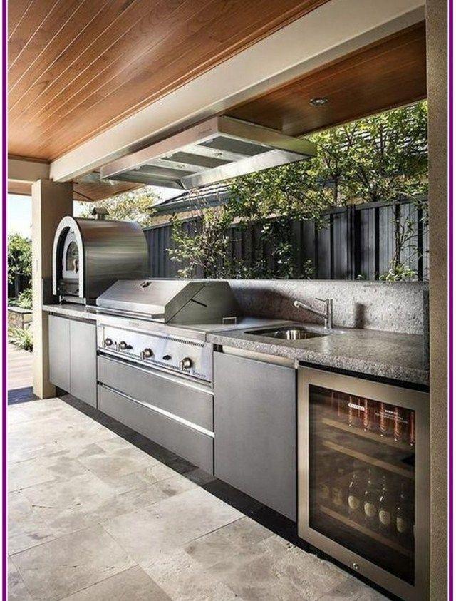 28 Gorgeous Kitchen Design Ideas For Outdoor Kitchen Outdoor Kitchen Patio Outdoor Kitchen Outdoor Bbq Kitchen