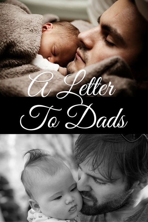 To the Dads in Our Life - Thank you and I'm sorry...