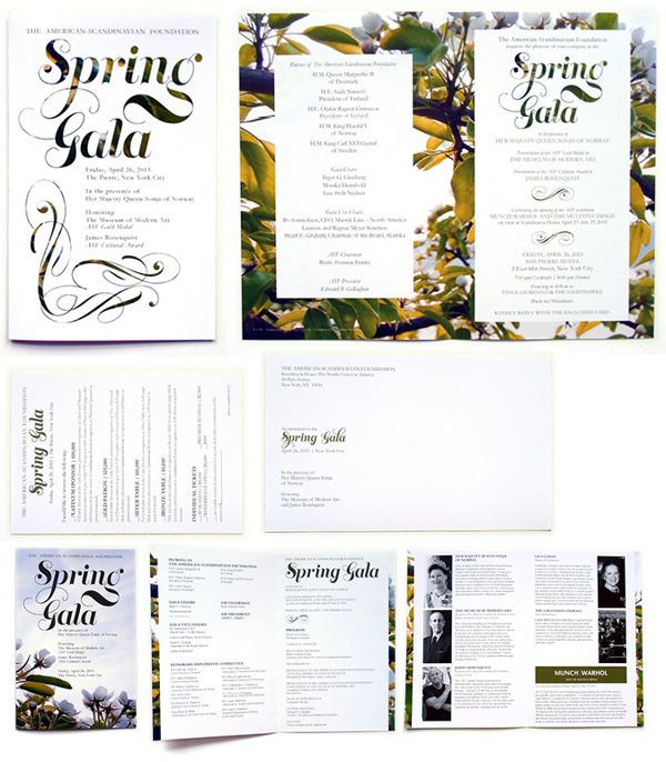 ASF Spring Gala on Behance