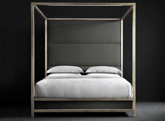 A Sleek Modern Bed