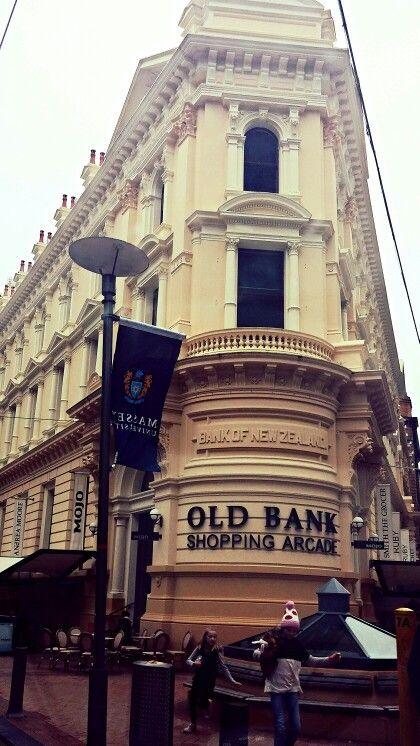 Beautiful old Bank of New Zealand building, Wellington.