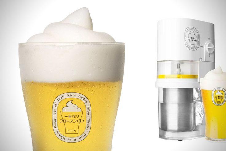 Frozen Beer Slushie Maker - une bière, oui mais gelée!