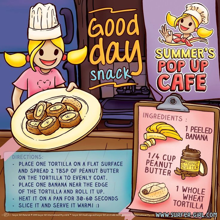 "Hi Girls ^^ Lighten up your weekend with a tasty snack! :) I've prepared an easy and yummy snack recipe for you ^^ Let's try it :) The recipe is called ""Good day snack"" so you'll have a good day after eating it, hehe ^^ Love, Summer <3 #surfergirl #positivedifference #healthyrecipe"