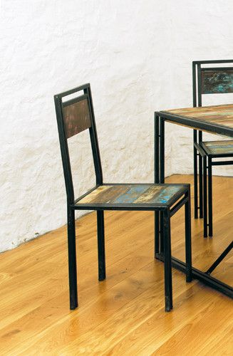 Beautiful Reclaimed Urban Chic Dining Chair - Shop Now. – Chattels