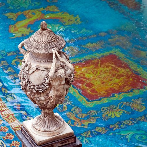 17 best images about versace on pinterest mothersday for Versace pool design