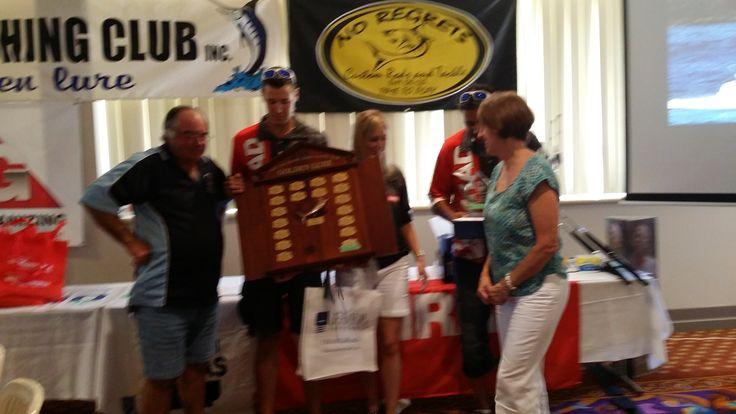 Team Simrad take our the Golden Lure Port Macquarie 2015 Congrats from team Shotgun. Shotgun Marine