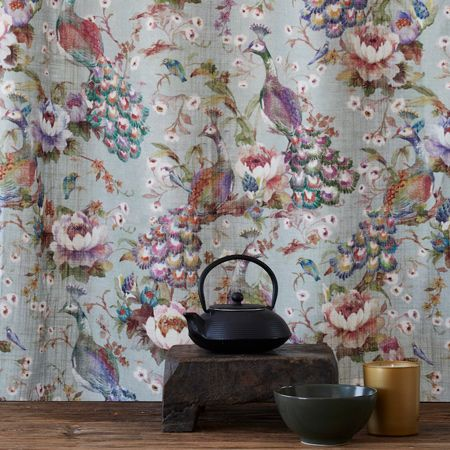 HOME DZINE Home Decor | New range of colourful fabrics from Hertex