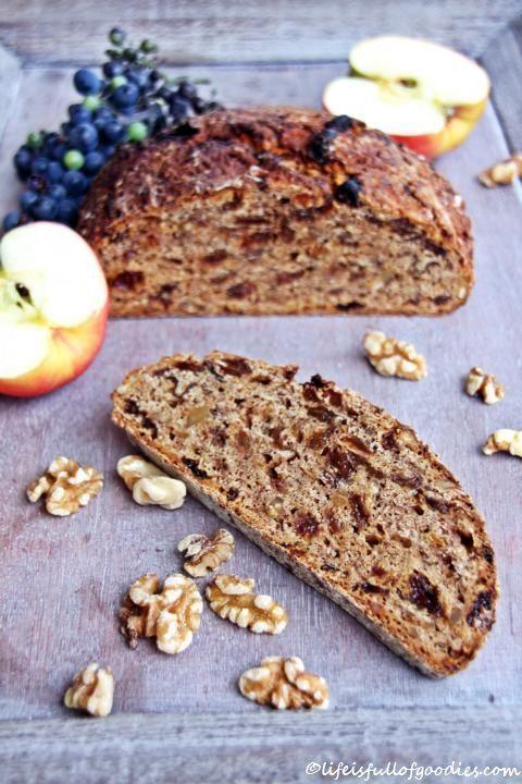 FIT FOOD Im Herbst gibt es Äpfel. Und Walnüsse. Und was macht man daraus?!! Apfelbrot!!! Lecker saftiges Apfelbrot ist für mich zum Frühstück schon herrlich. Und zum Mittagessen. Oder als Stulle zu...