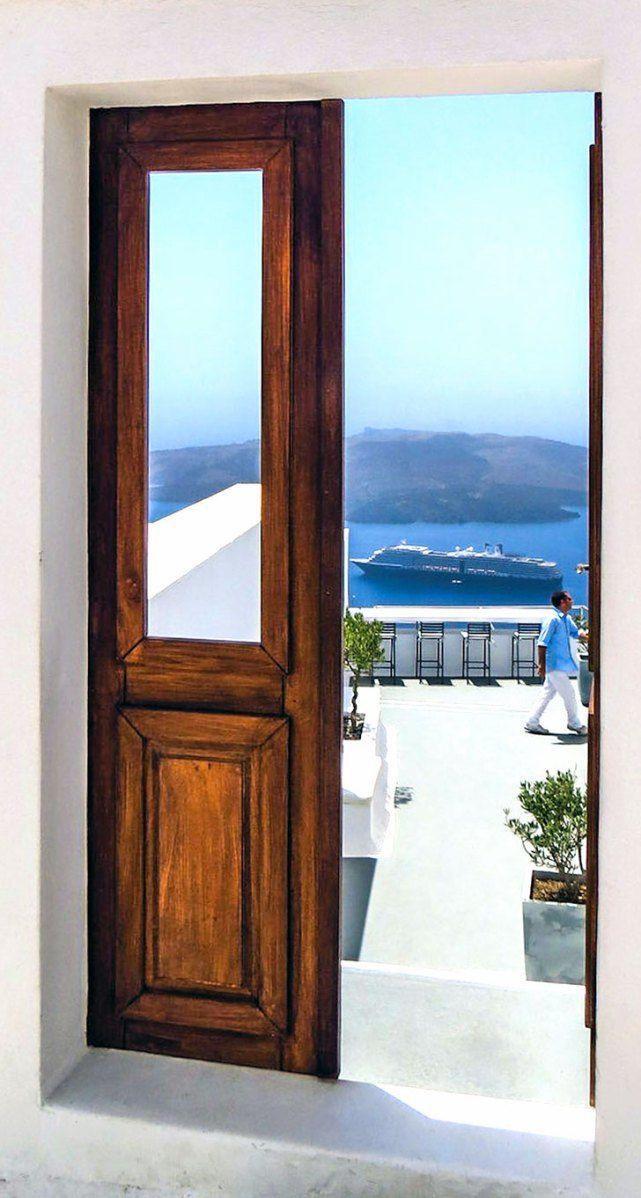 Door to the Volcano, Fira, Santorini