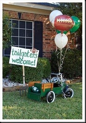 Tailgaters Welcome