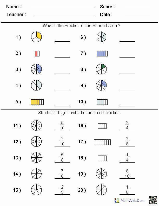 Math Worksheet Site Sekolah Dasar Pecahan Pendidikan