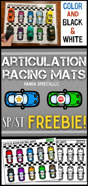 FREE SP/ST articulation activity!