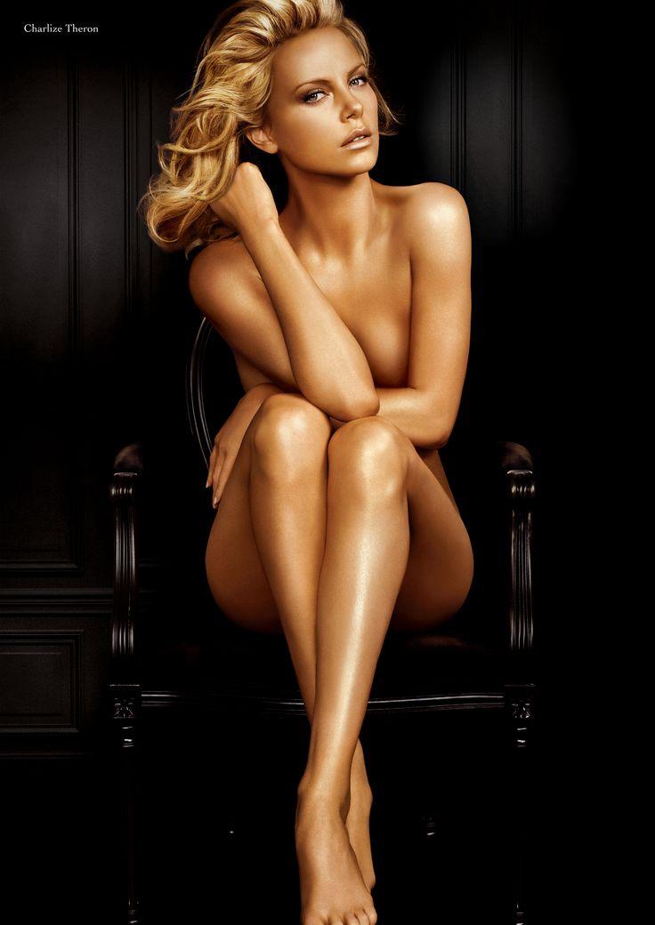 Charlize Theron. boudoir photography inspiration