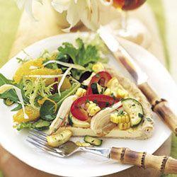 Summer Vegetable Tart | Recipe