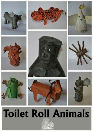Toilet Roll Animals