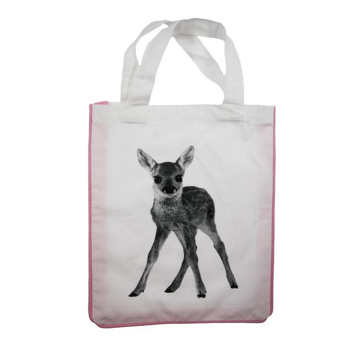 Sengesett Bambi til dukkevogn