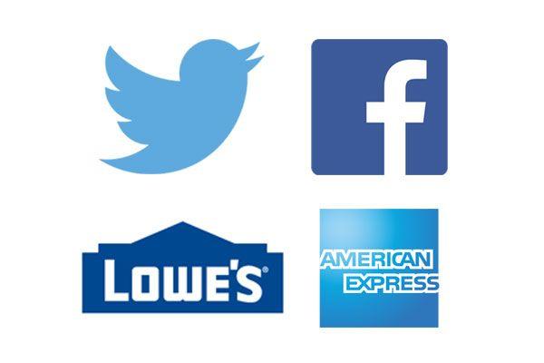 Le Bleu est la plus fiable de toutes les couleurs  Elle rappelle le ciel et nous associons cette couleur à des logos qui veulent insister sur la fiabilité et la sécurité. Le bleu est une couleur préférée pour cette raison.  Marques susceptibles d'exceller avec un logo bleu comprennent notamment les finances et la sécurité.  American Express, PayPal, Twitter, Facebook utilisent tous le bleu pour suggérer la fiabilité.