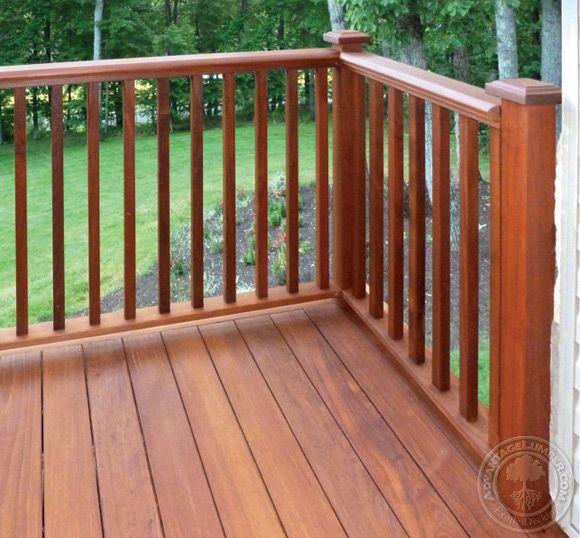 25 Benefits Pf Stair Lights Outdoor: 25+ Best Ideas About Decking Handrail On Pinterest